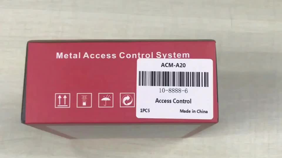 Silver Access Control Keypad Rfid Touch Metal Door/Digital Lock for Apartment Support 8000 Users