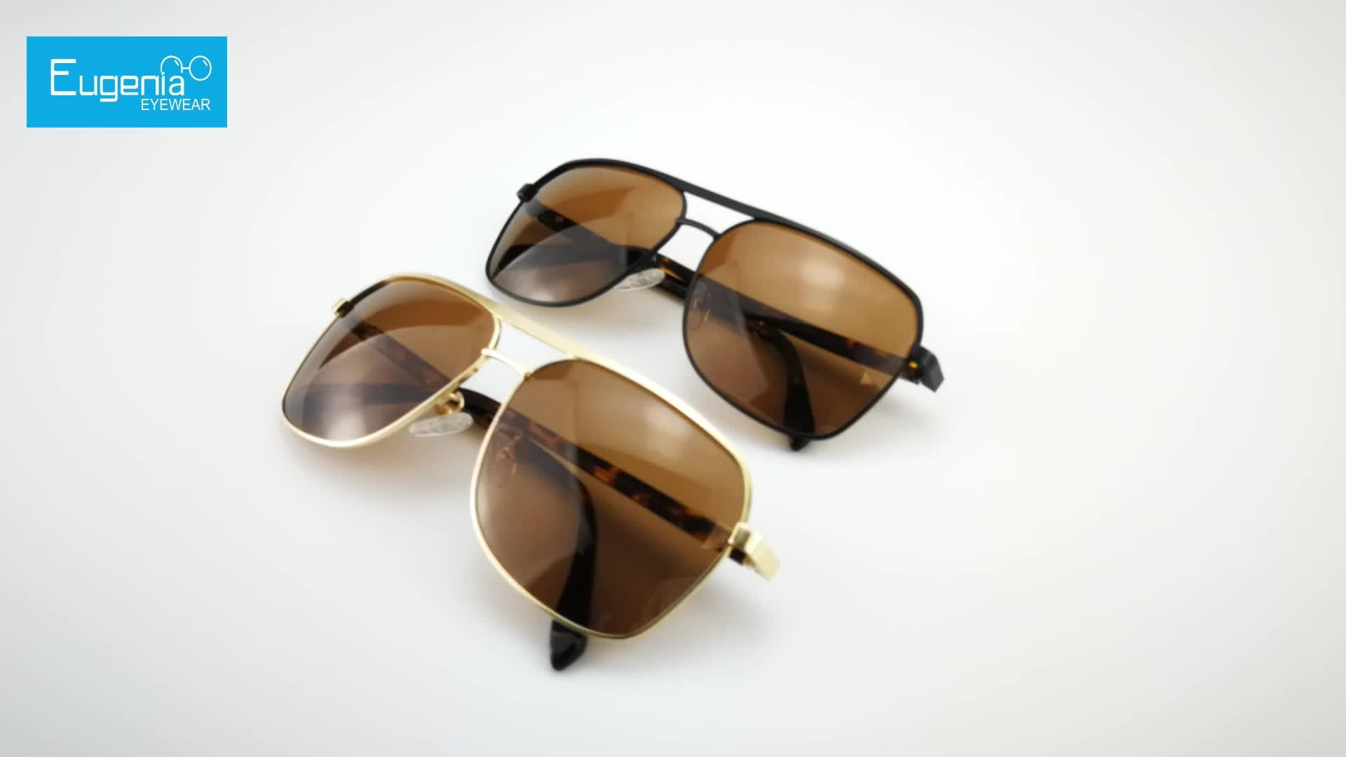 EUGENIA Sunglasses men 2020 new style topsales metal frame custom design acceptable sunglasses