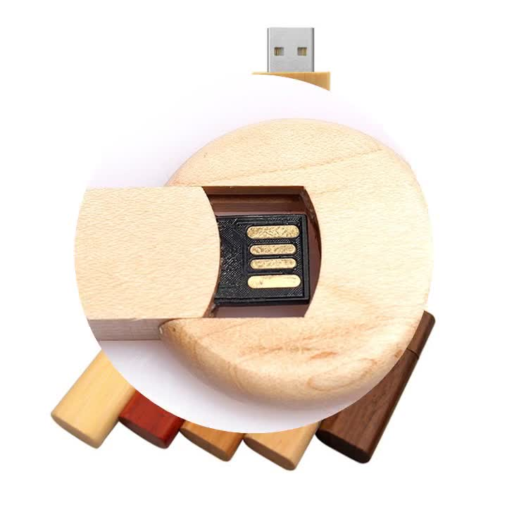 ali wholesale new product usb memory personalized mini swivel wooden flash usb 2gb 4gb 8gb with high capacity