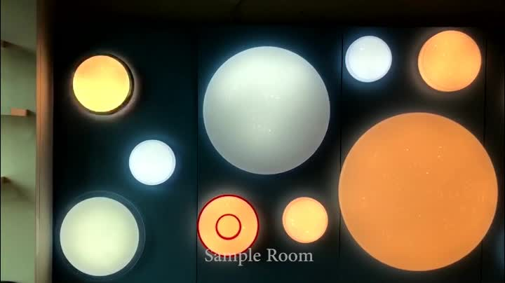 Top selling 40w modern round living room wireless round led ceiling lights