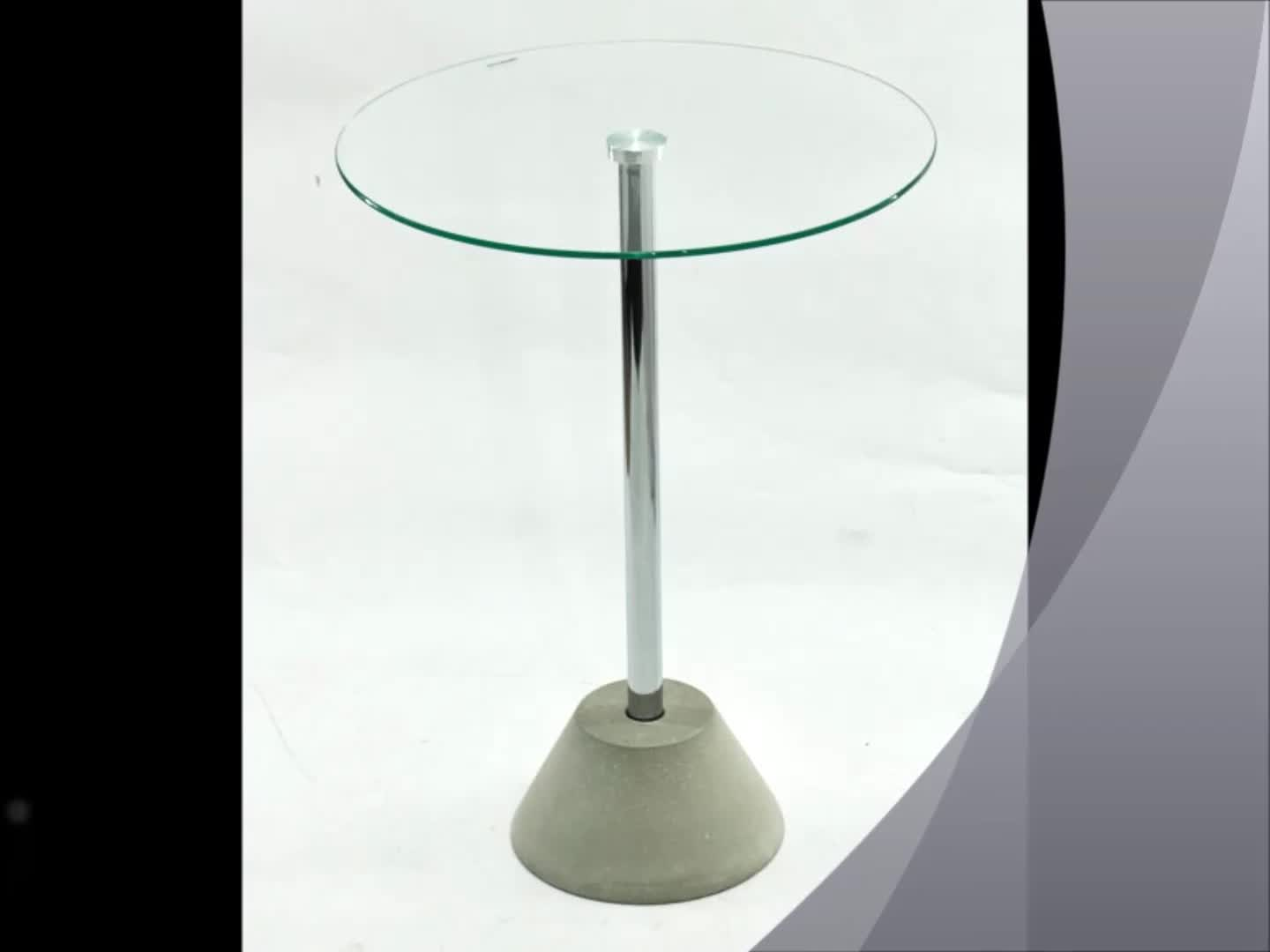 Concrete Base Conference Coffee Table