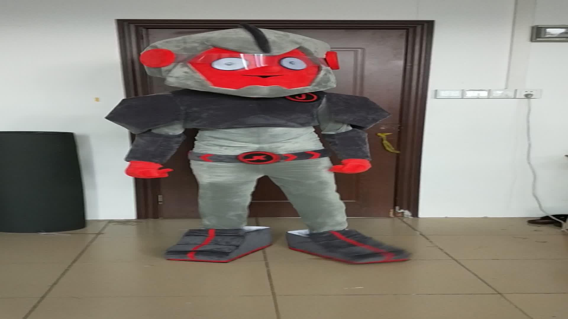 Bswm194 mobil maskot kostum untuk dijual