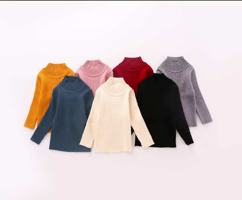 New Kids Stylish Knitted Boys Girls Pullover Sweater Design