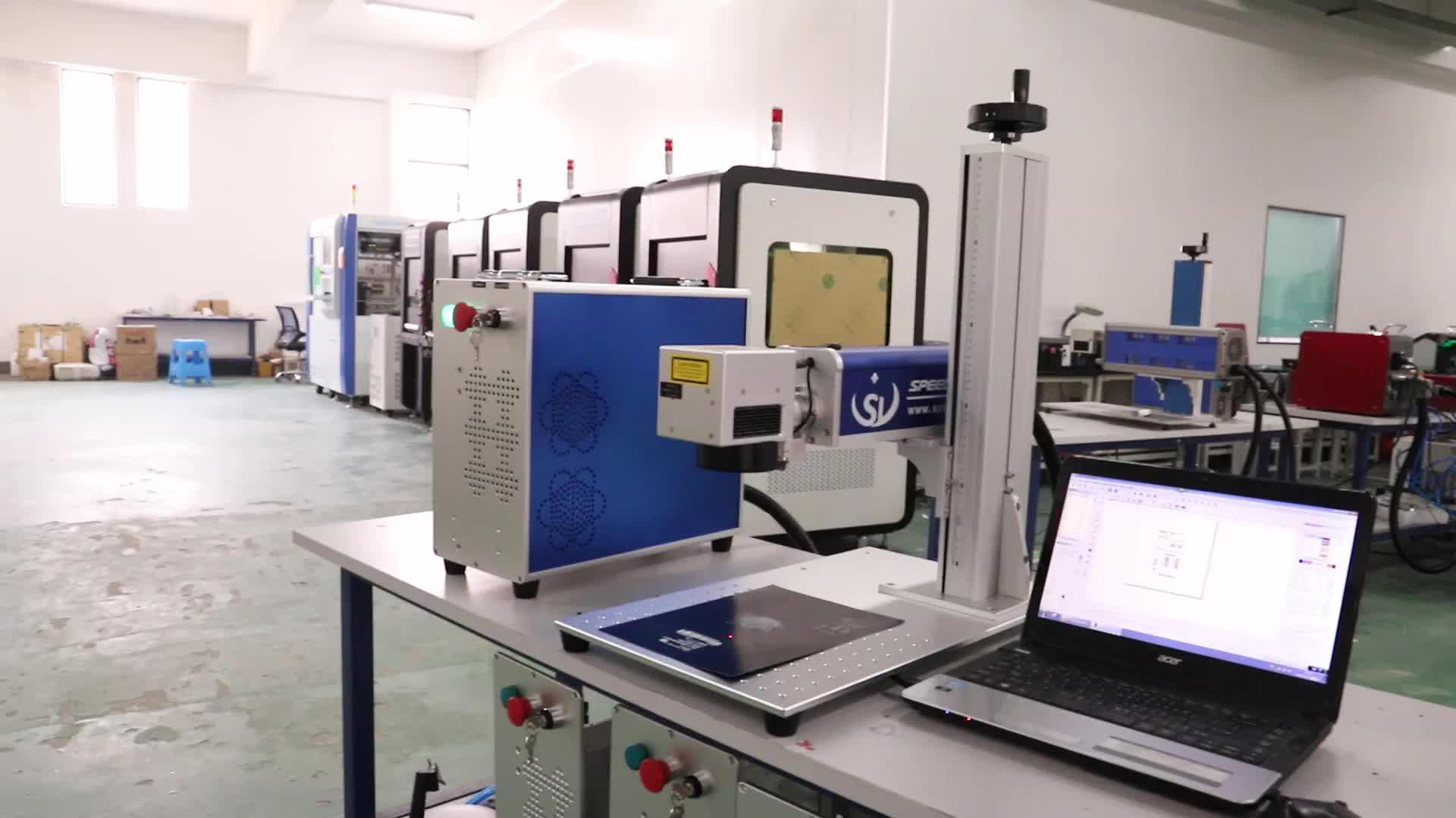 USA Germania Polonia Italia Raycus IPG JPT 20W 30W 50W 60W macchina per incisione laser a fibra