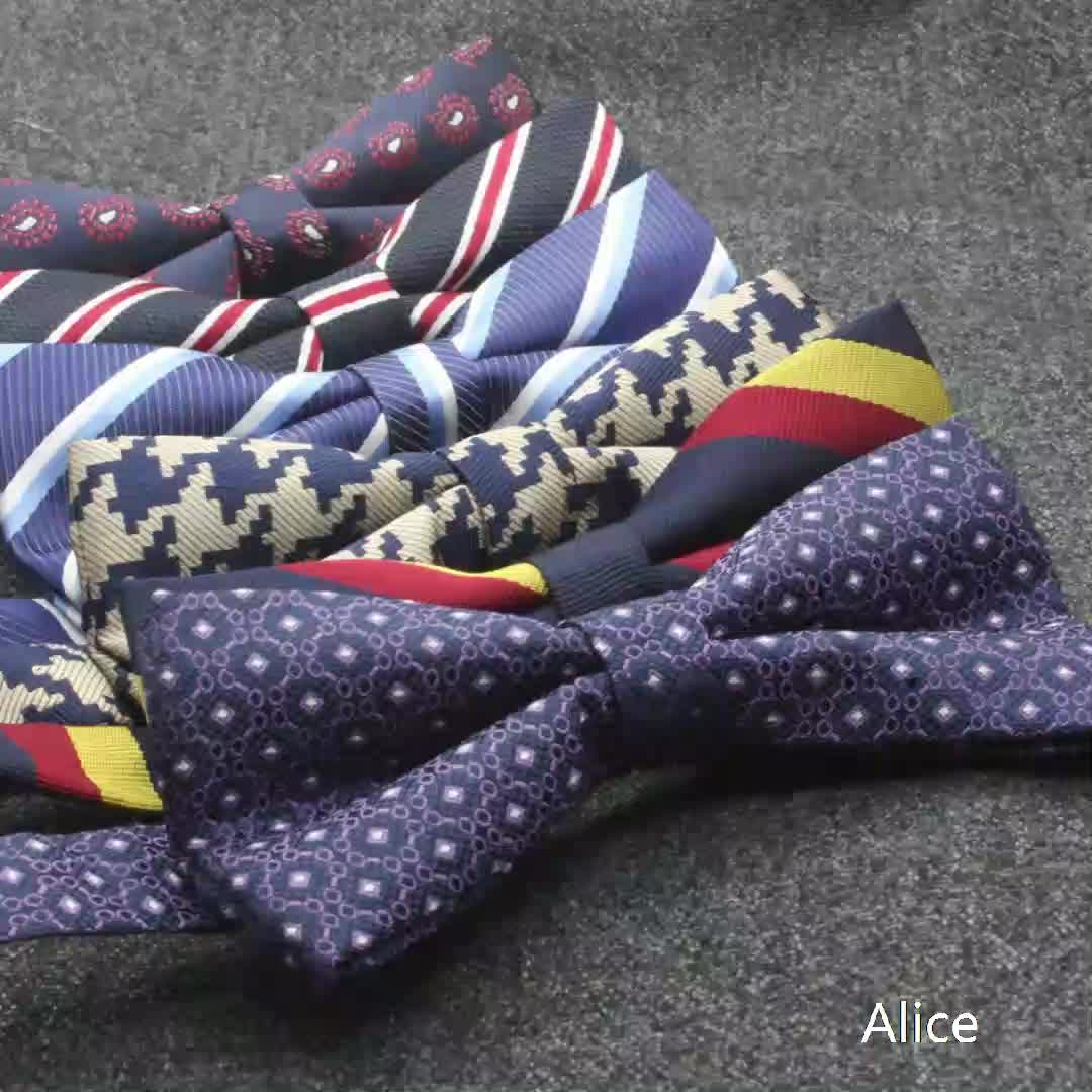 Hot  man style hot sales The latest fashion good quality  soild   new italy style   business wedding  bow tie
