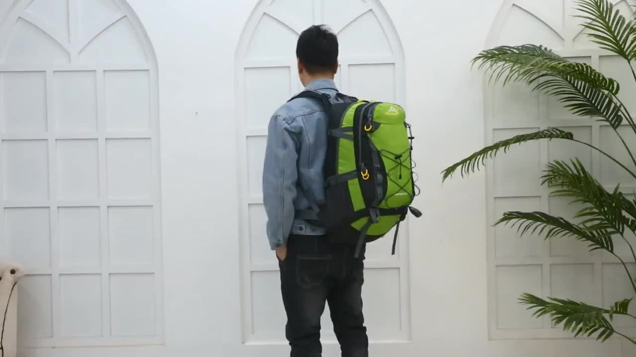 40L Wholesale Multifunctional Sport Backpack, Outdoor Travel Climbing Hiking Backpack