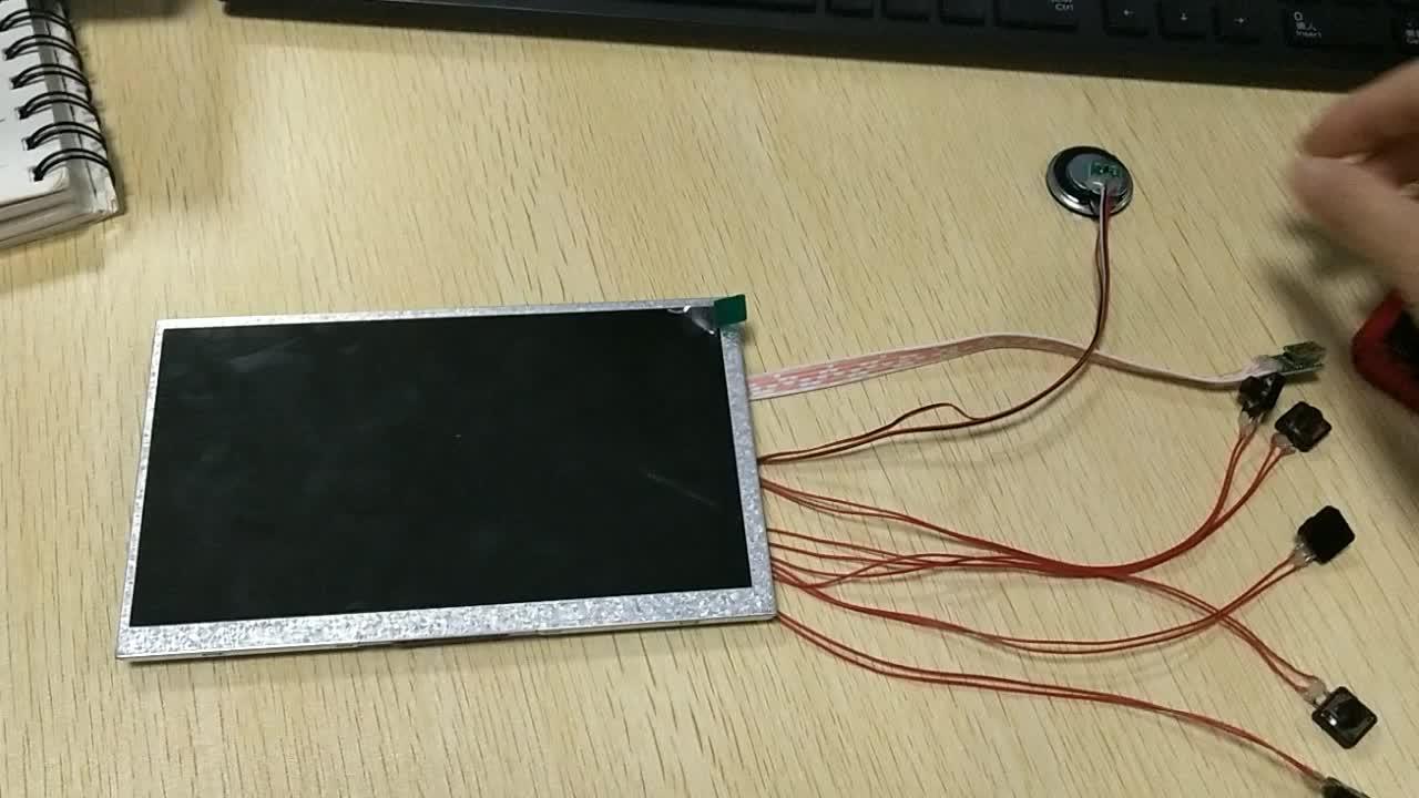 Fabriek Grote Maat 10 Inch Video Module Video Groet Brochure Component Lg Tft Lcd Module