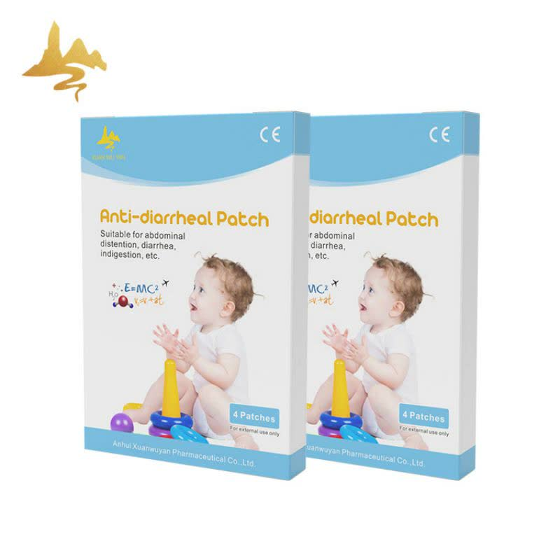 New Popular Items Children Health Care Adult Fever Cold Anti Diarrhea Patch