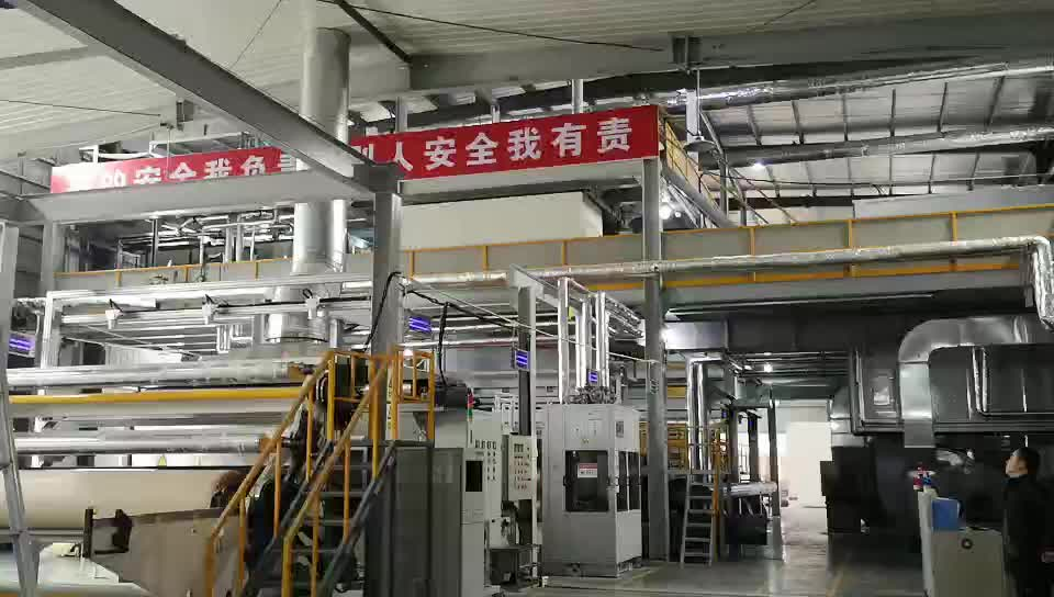 High Quality 2.4m SSS PP Spunbond Nonwoven Fabric Making Machine Production Line
