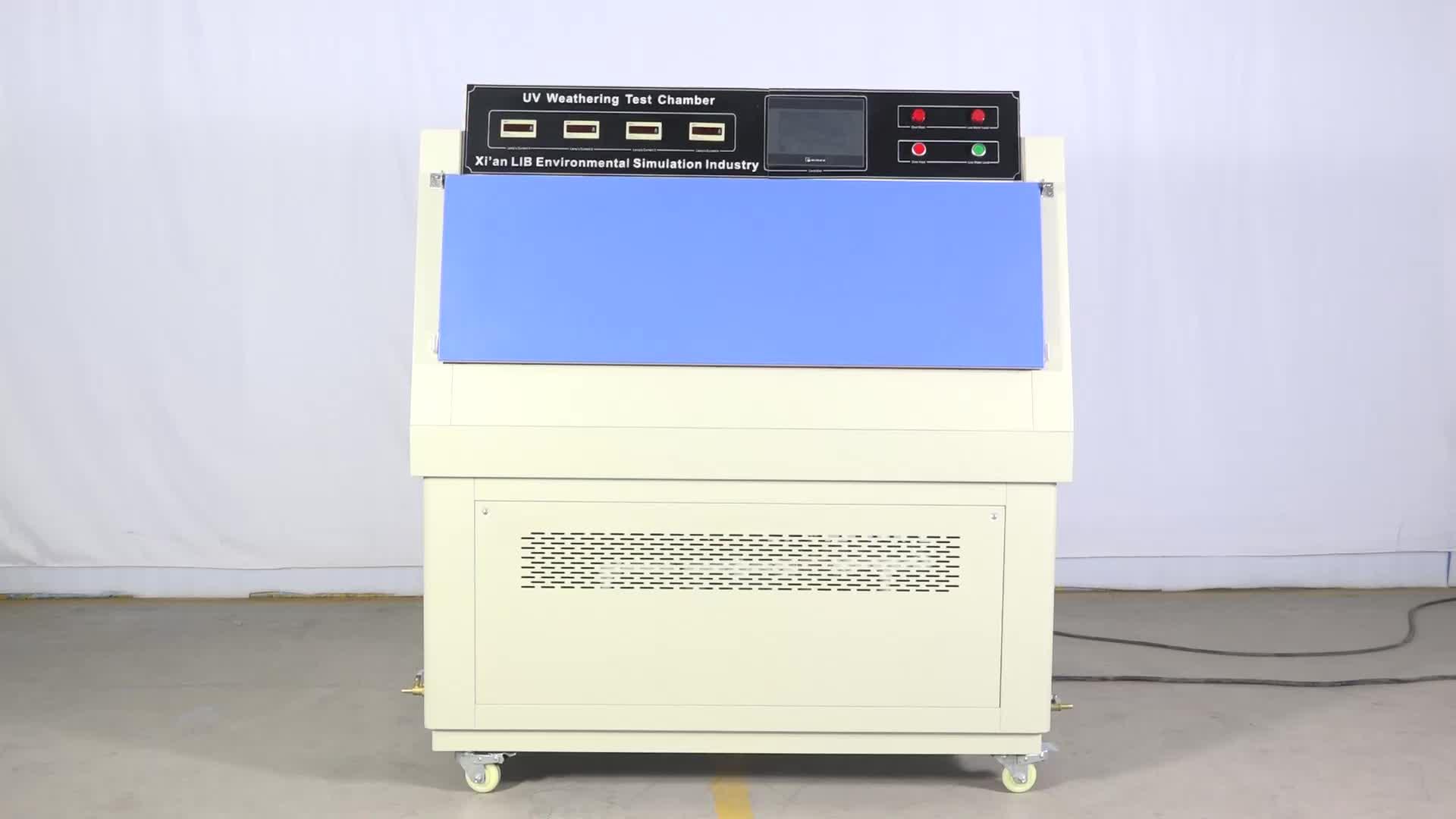 Simulation De la lumière solaire Vieillissement Ultraviolet UV Lumière Dispositif D'essai