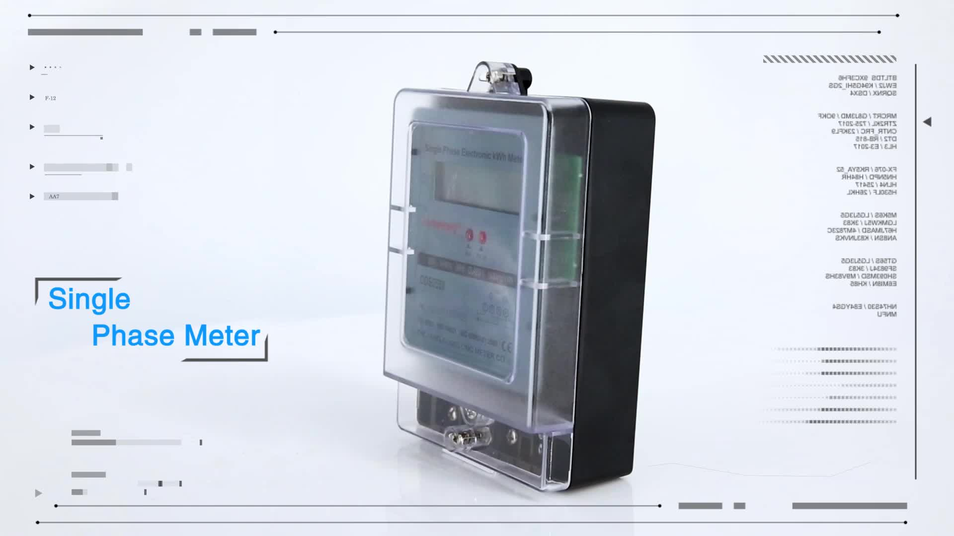 2018 Gomelong hot sale cheap price single phase types of electricity meter
