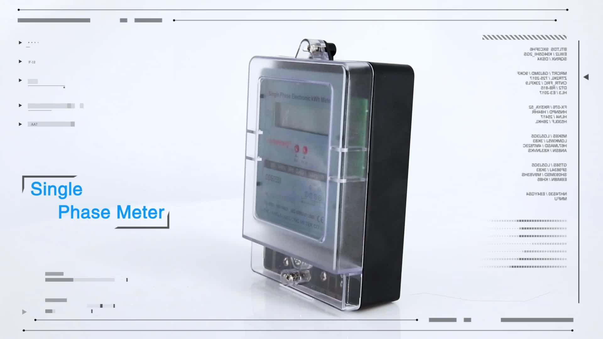 High Quality Good Selling Single Phase Electric Watt-hour Digital Multi Energy Meter Module