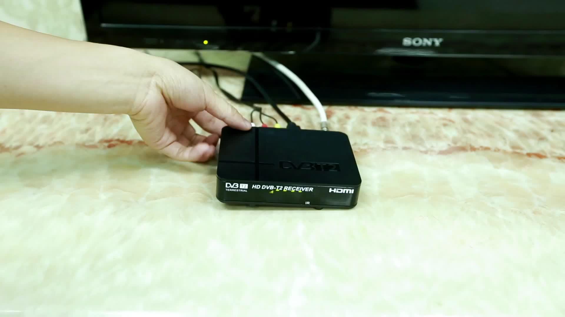 DVB-T2/S2/C Ondersteuning Wifi en Ja High Definition full hd satellietontvanger
