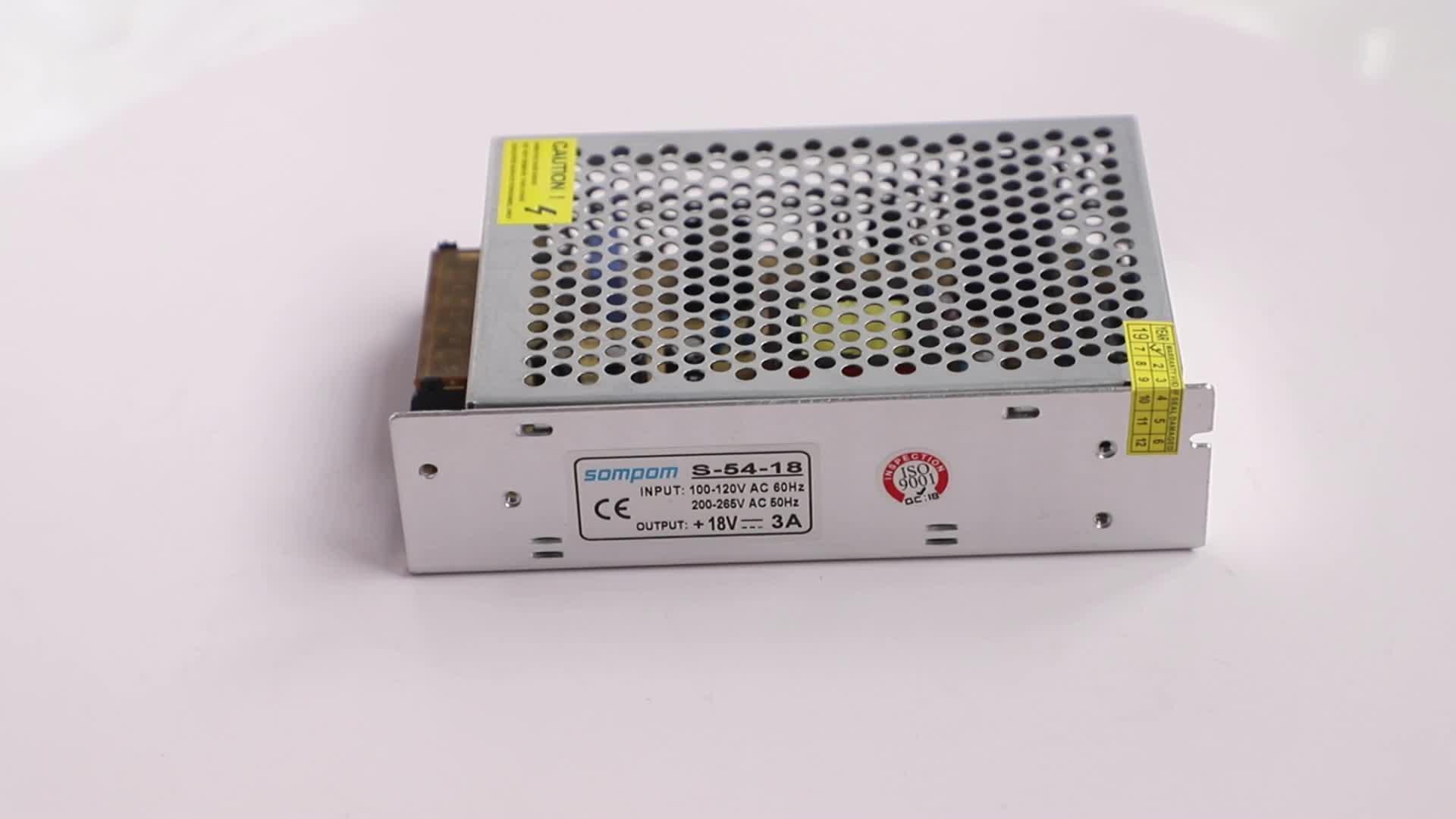 110 V 220 v ac zu dc18v 3a 54 w fahrer transformatoren 18 v smps geregelte schalt netzteil