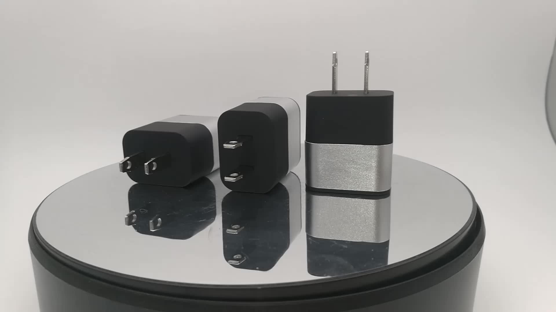 신제품 2.4A 휴대 전화 충전기 벽면 충전기