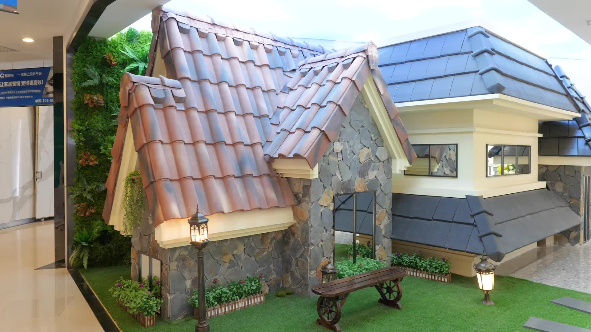 Factory price building materials S type clay roof tile