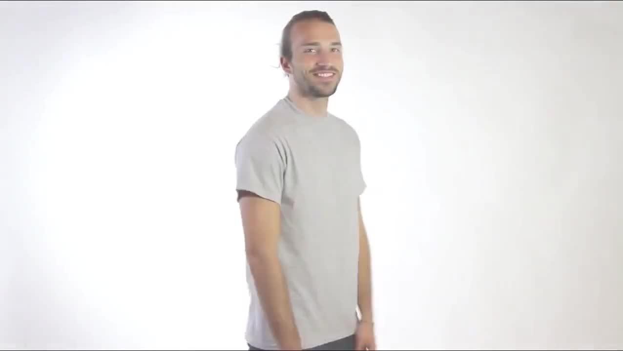 ขายส่ง 60% โพลีเอสเตอร์ 40% cotton O-Neck 160g ที่กำหนดเองที่ว่างเปล่า T เสื้อผู้ชาย
