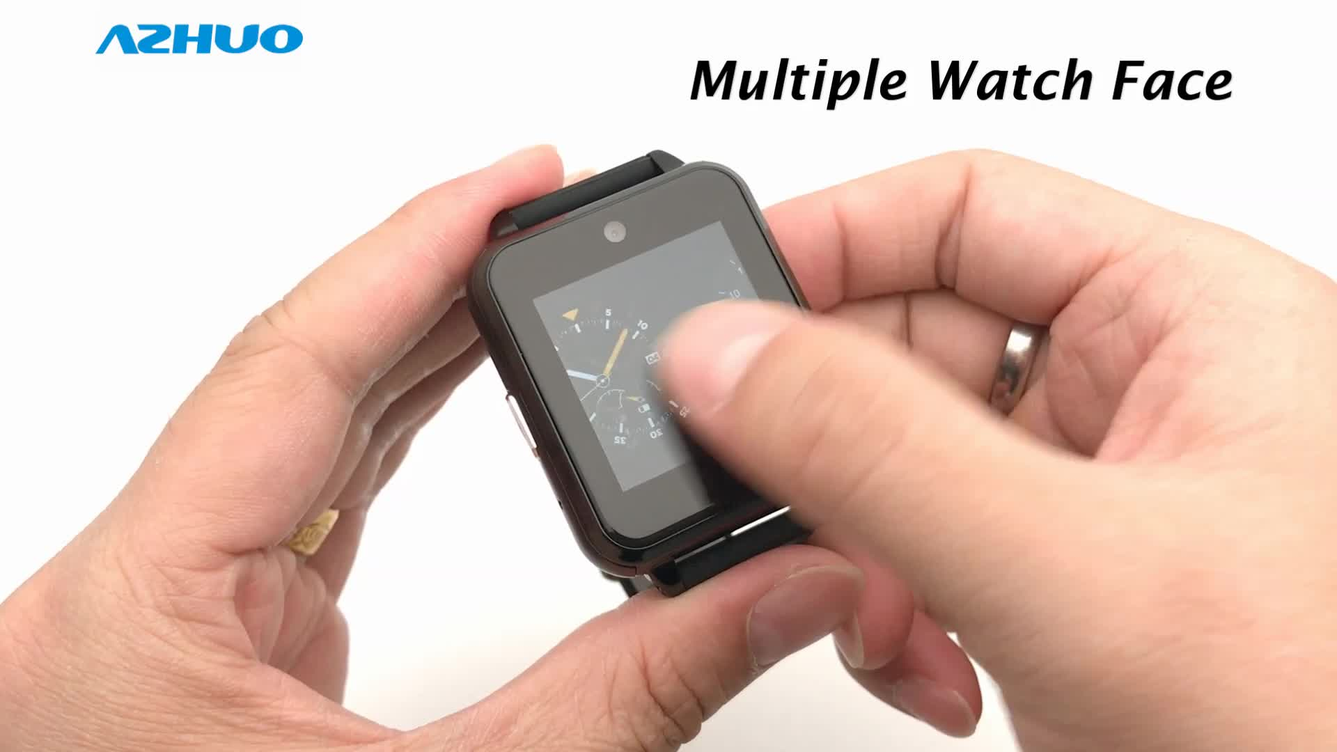 Q1 Pro yeni Q2 4G akıllı saat MTK6737 dört çekirdekli 1GB RAM 16GB ROM Android 6.0 Wifi GPS kamera kalp hızı kan basıncı Smartwatch