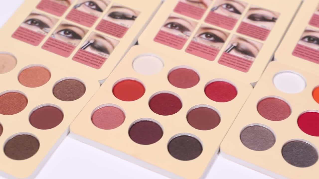 Ready to Ship Brand Authorization available Shadowme Cosmetics 9 Color Cheap Eyeshadow Palette