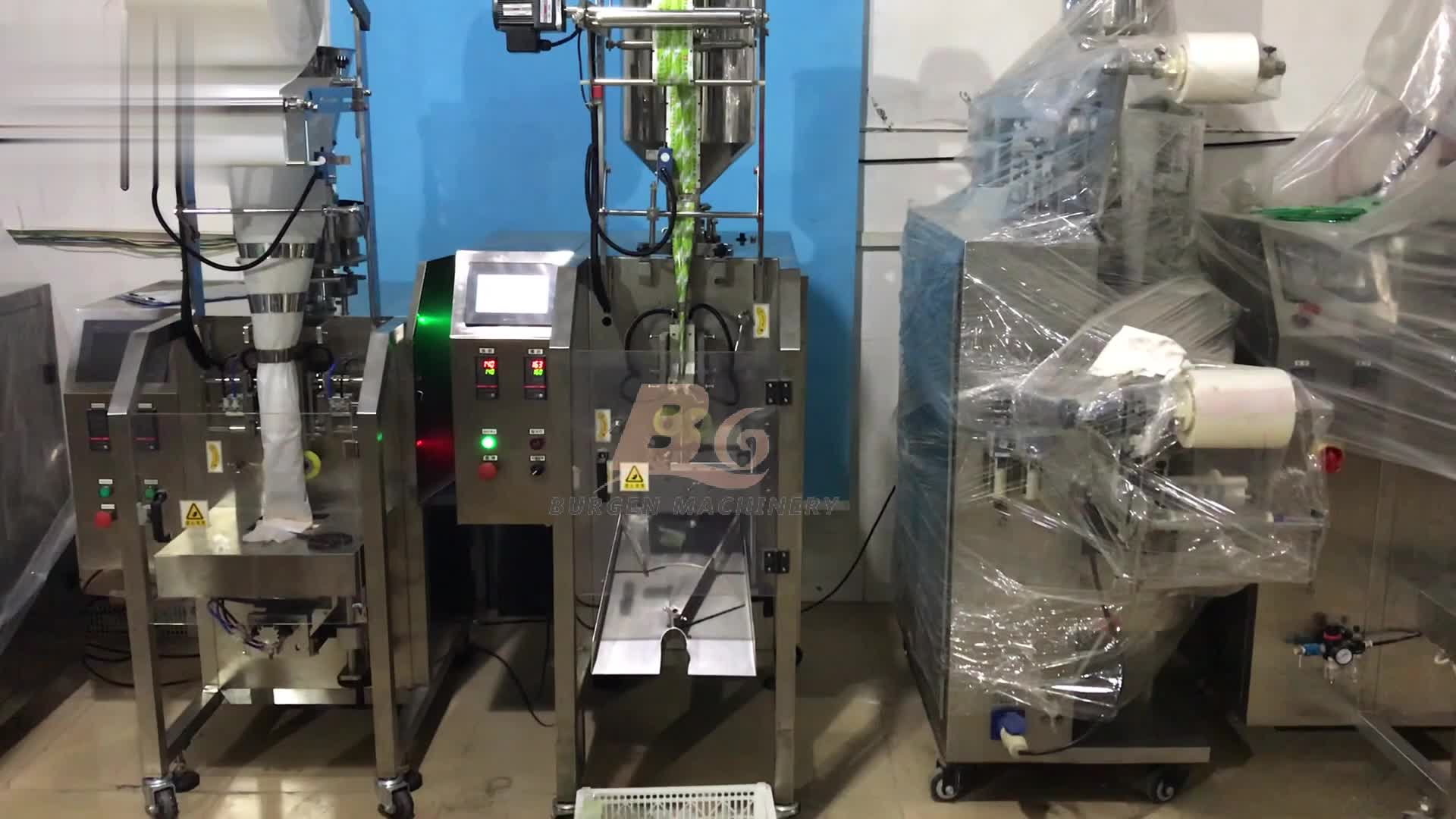 automatic tomato sauce ketchup sachets packaging machine