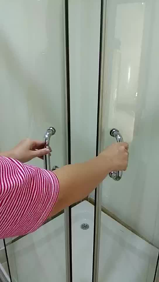 K-7806 China Manufacturer Corner Enclosed Shower Cubicles Frosted ...