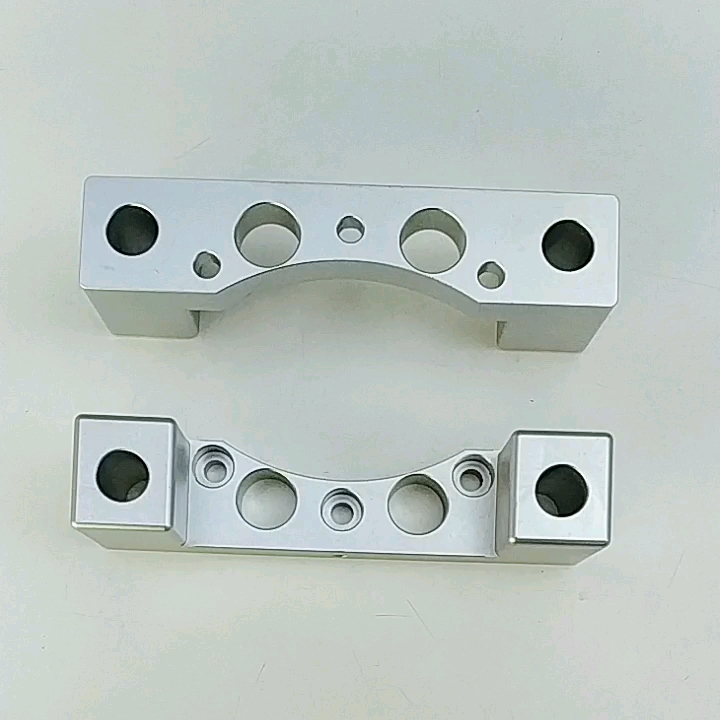 custom cnc machining milling parts aluminum billet block solid brake caliper for auto or motorcycle by your drawing