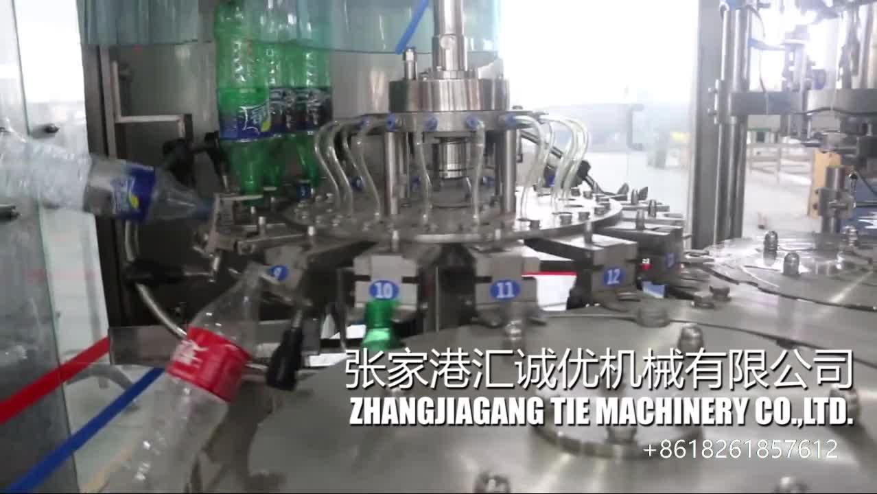 Automatische Cola Productielijn/Soda Water/Koolzuurhoudende Drank Productielijn