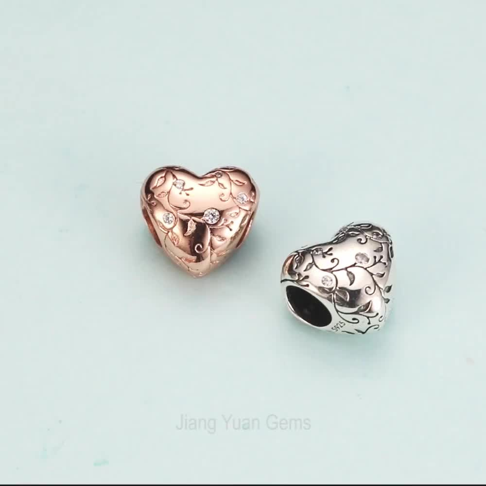 New Arrival 925 sterling silver bracelet charms loose beads for jewelry making
