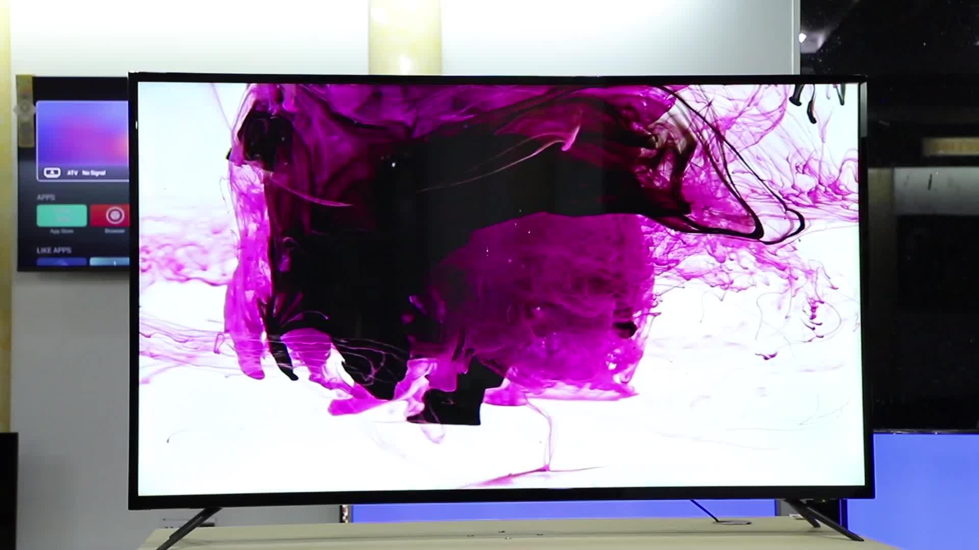 Fabrik 32 zoll 4K Ultra HD 3D Fernsehen Stand