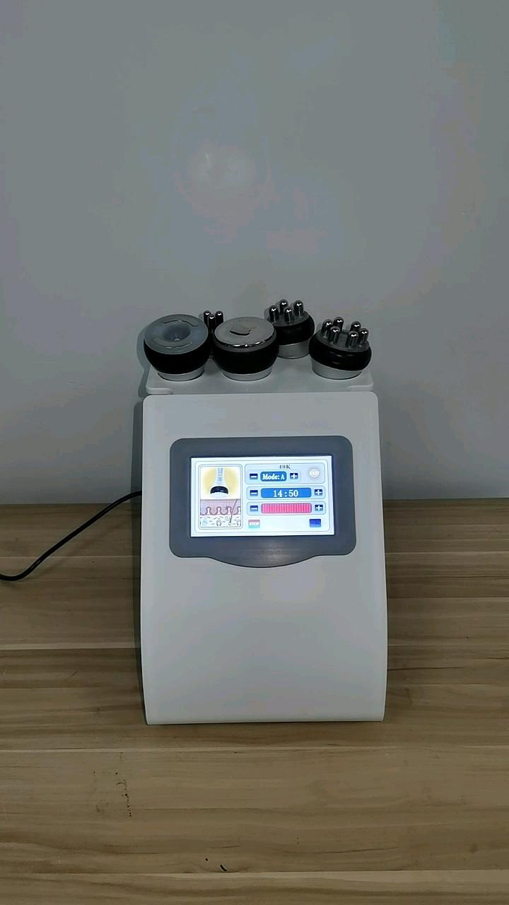 Portatile 5 in 1 40k ultra rf radio frequenza ultrasuoni lipo del corpo che dimagrisce il grasso ad ultrasuoni cavitazione macchina con basso prezzo