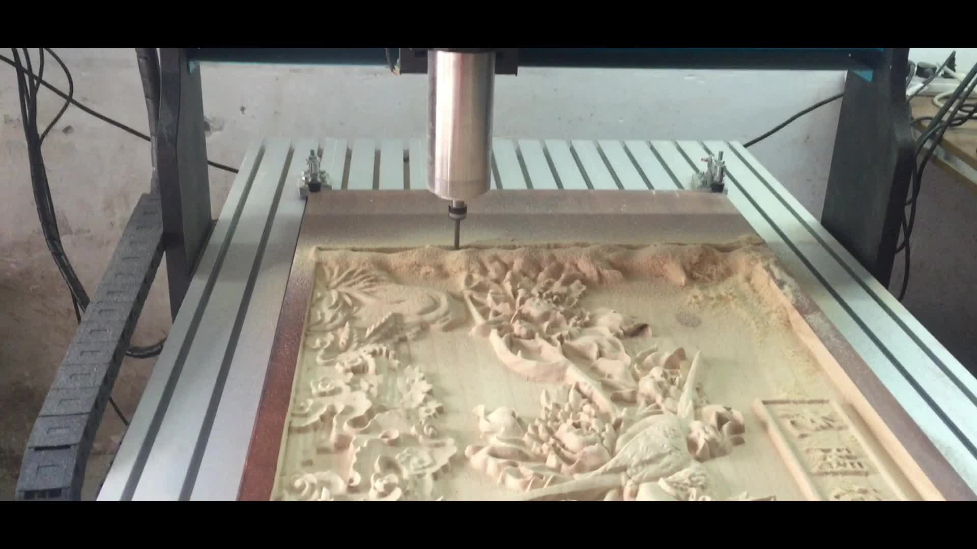China High Speed Wood Carving Desktop 3 Axis Machine Price Woodworking Cnc Router