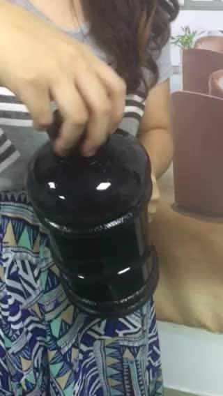 2200ml PETG Plastic Type and LFGB,FDA,CE/EU,SGS Certification big water bottle