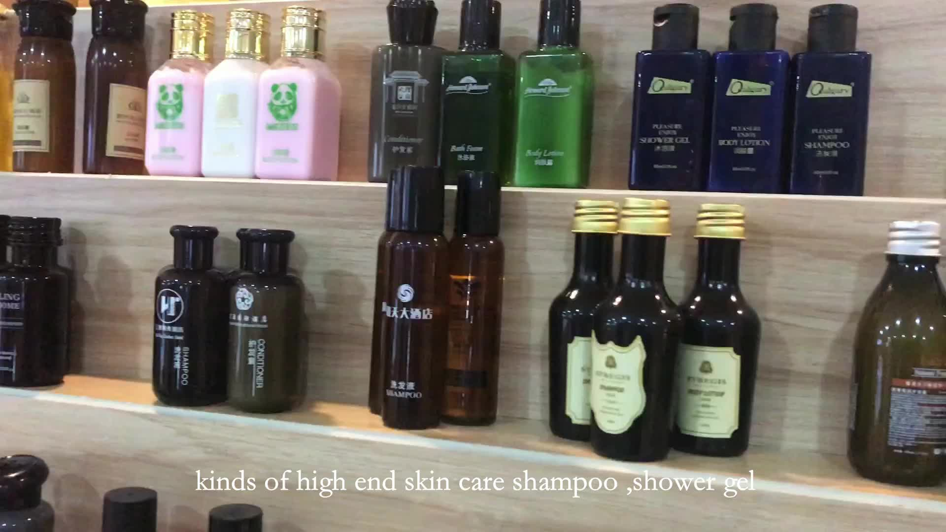 Factory supplier fashionable disposable hotel amenities shower gel