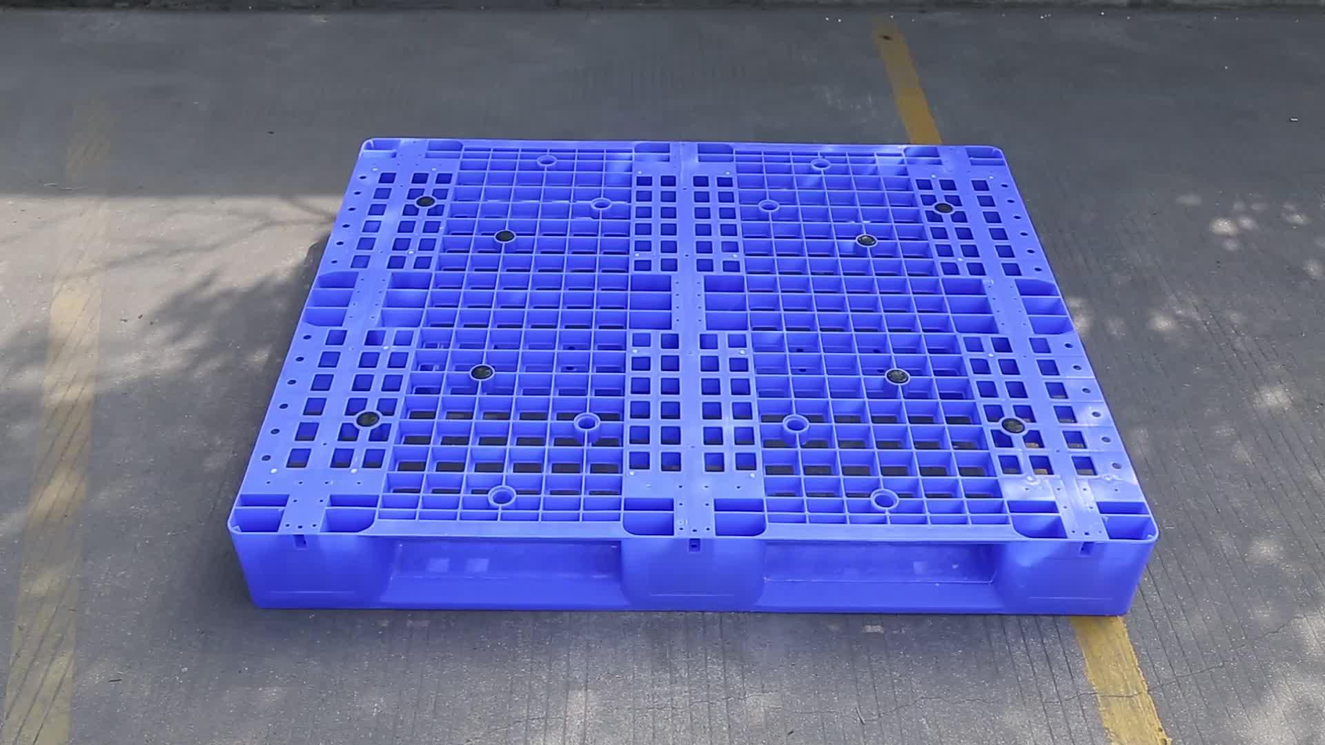 1200*1000 कुंवारी एचडीपीई सामग्री स्टील प्रबलित चावल बियर के लिए यूरो औद्योगिक चालाकी प्लास्टिक की चटाई