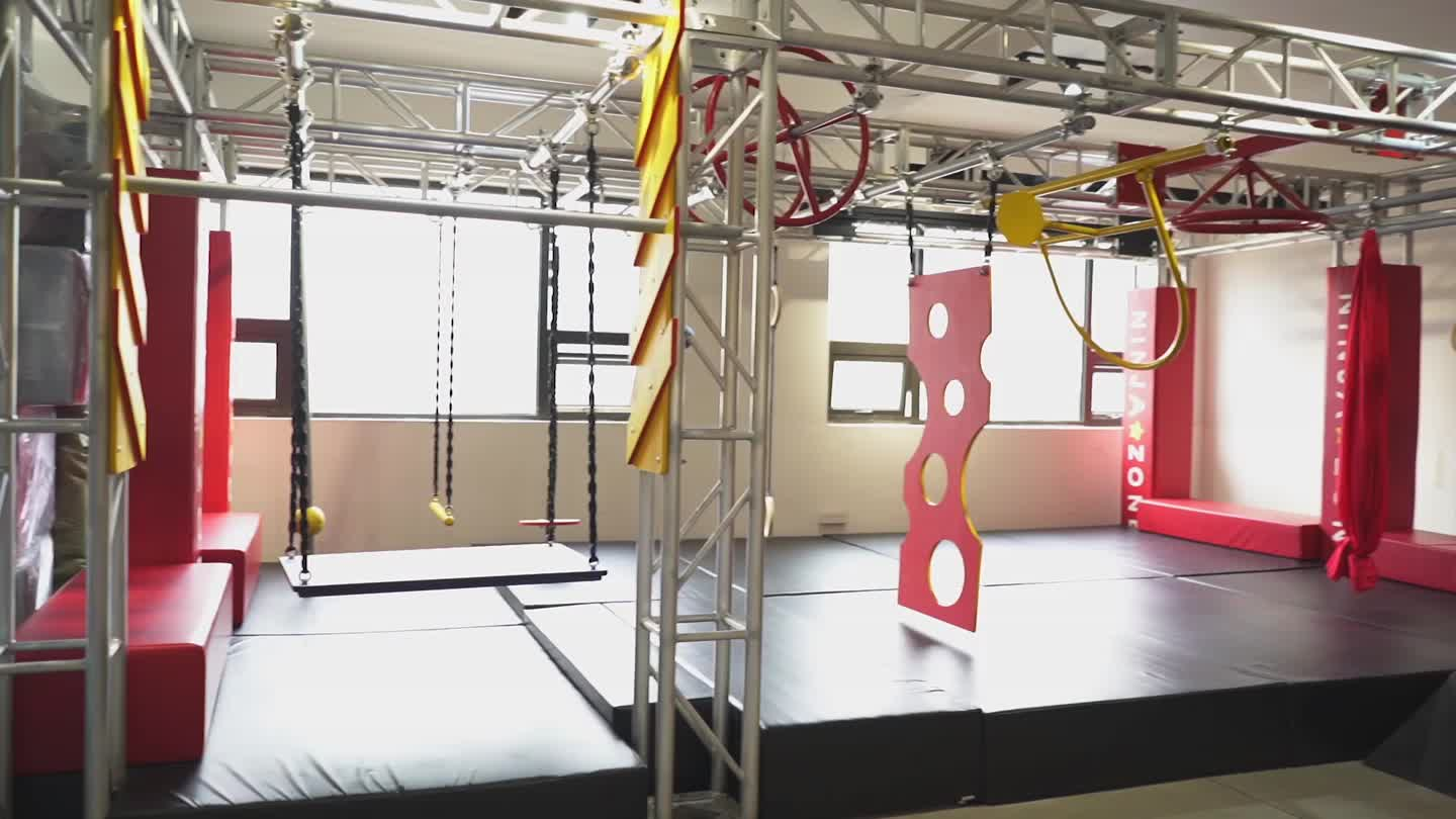 Commercial Ninja Warrior Obstacles Equipment for Sale