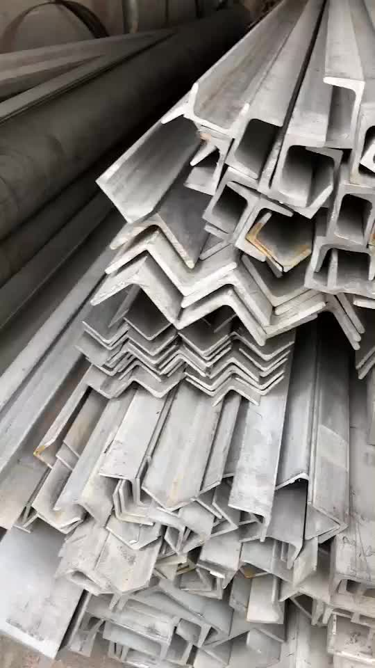 ASTM 201 202 304 316 60*60*4 Stainless Steel Equal Angel Steel for Building
