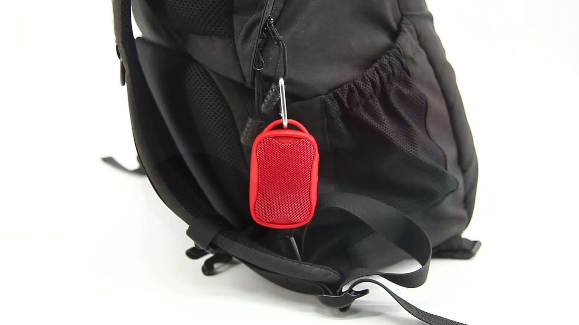 Hotsale 휴대용 미니 스피커 USB 충전 로고 무선 스피커