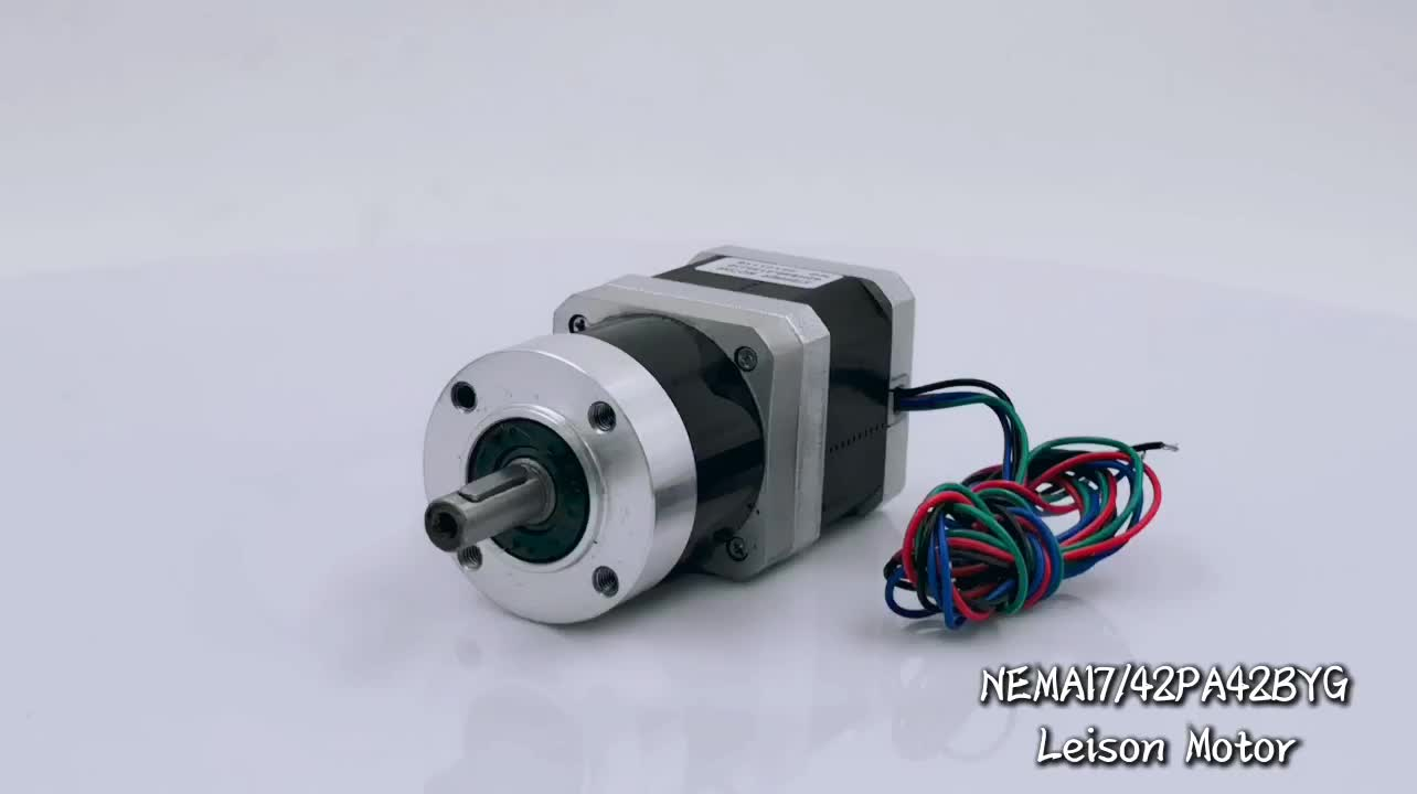 Nema 17 low cost 3-d printer stepping motor with reducer gearbox