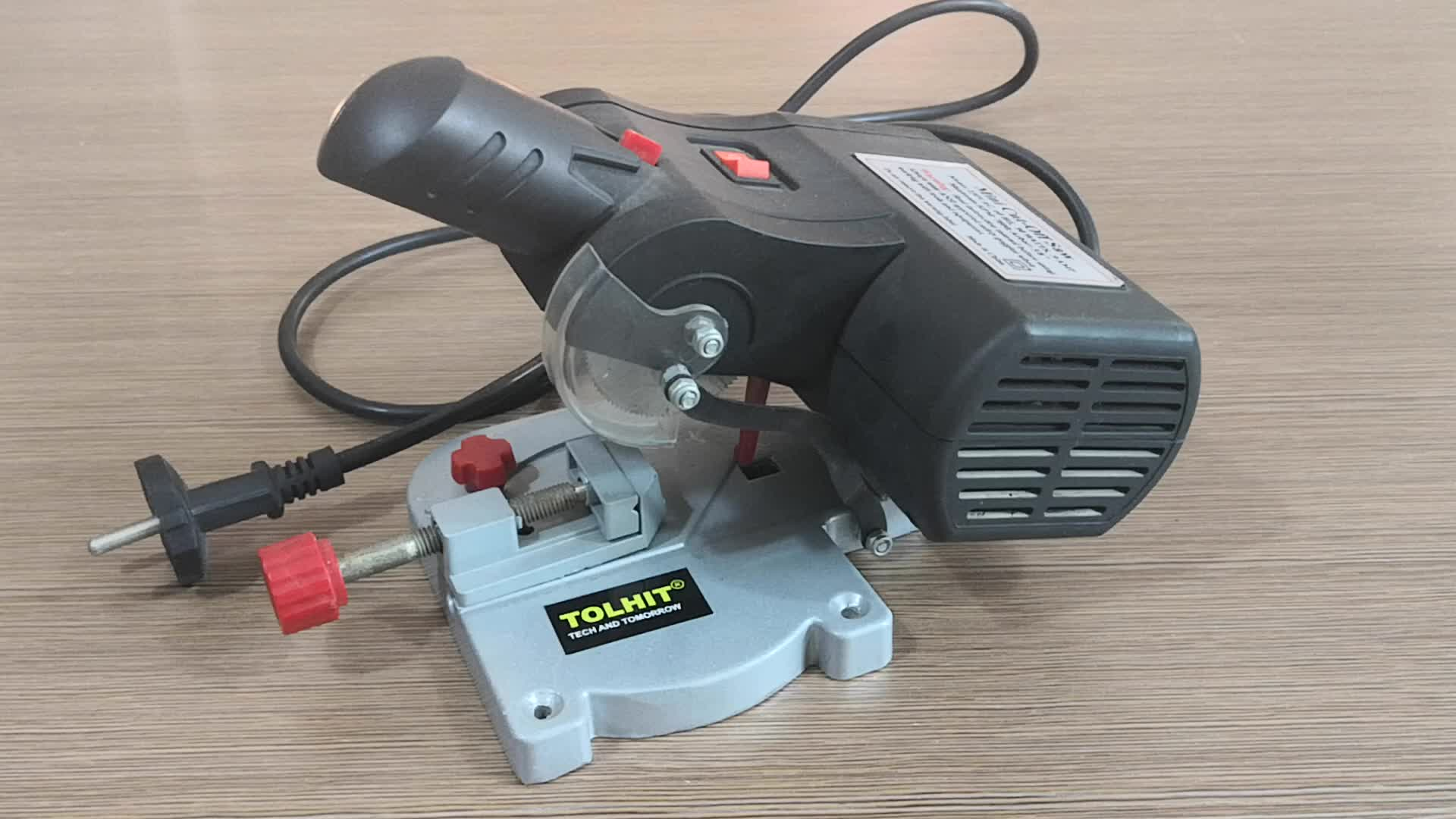 """TOLHIT 220-240v 50mm 2"""" Electric Mini Miter Cut Off Saw"""