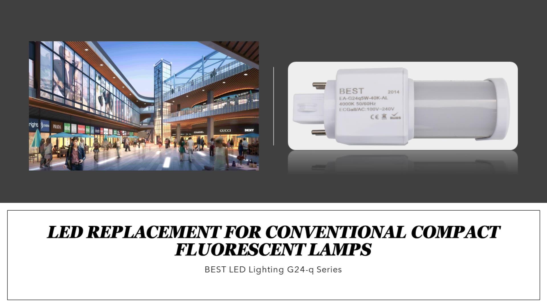 G24 led pl light; retrofit led lighting g24