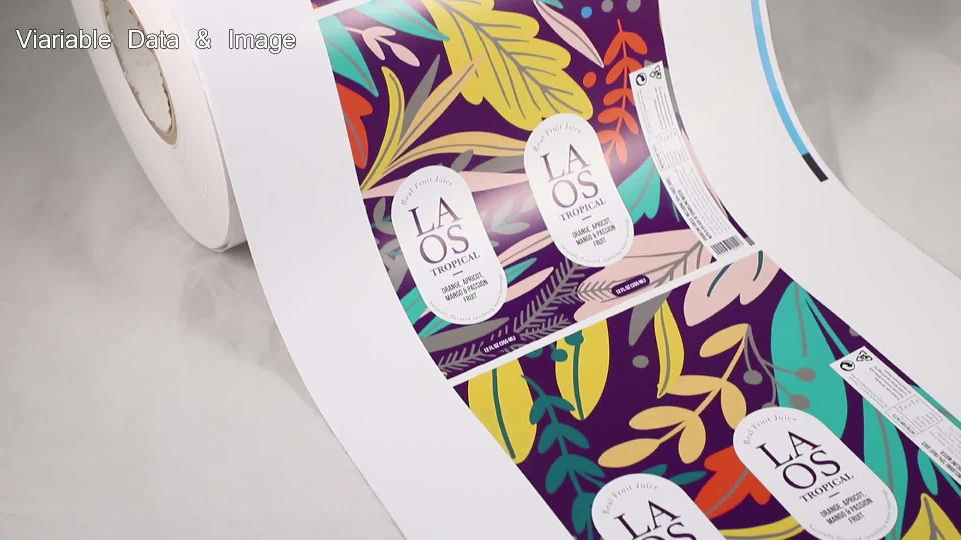 Custom Sticker Voor Speelgoed Zelfklevende Label Maker Van Dongguan