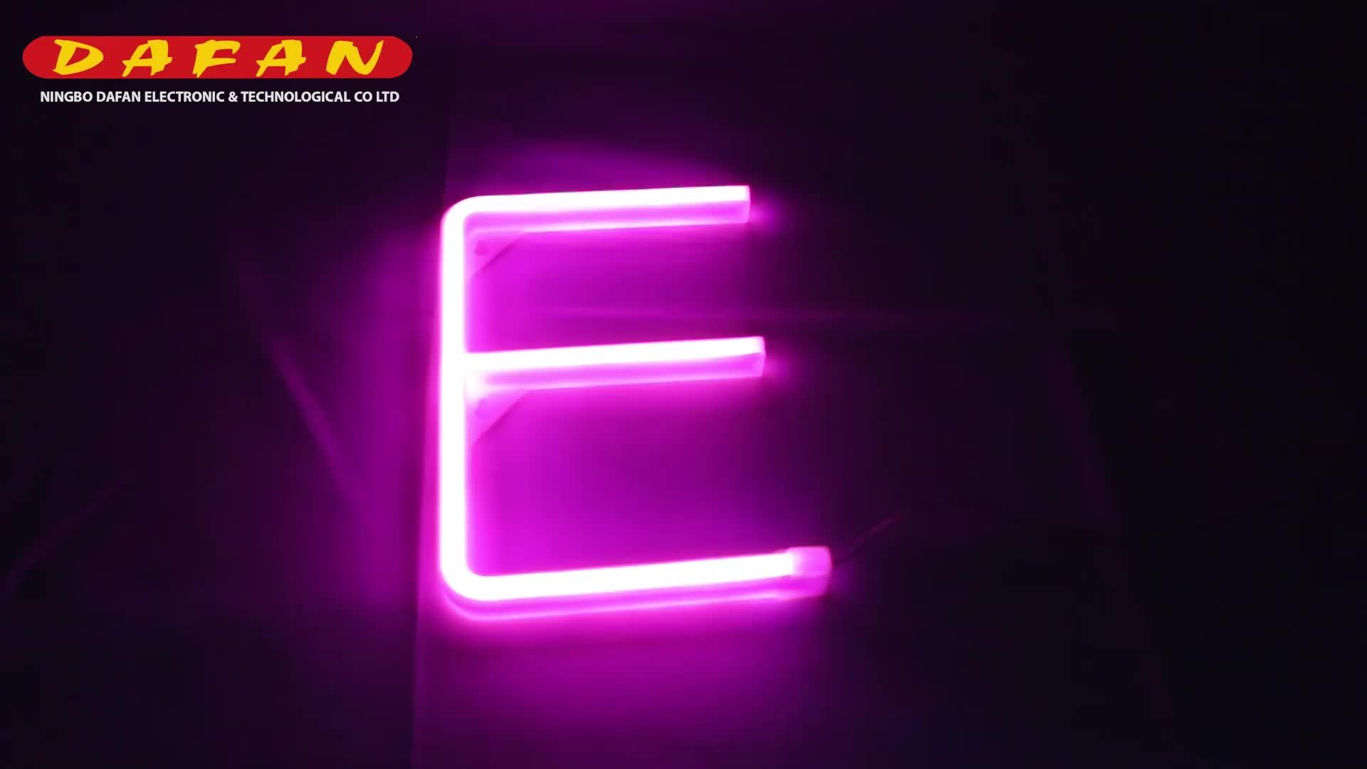 Atacado preço de fábrica china casino letra feita sob encomenda do sinal de néon