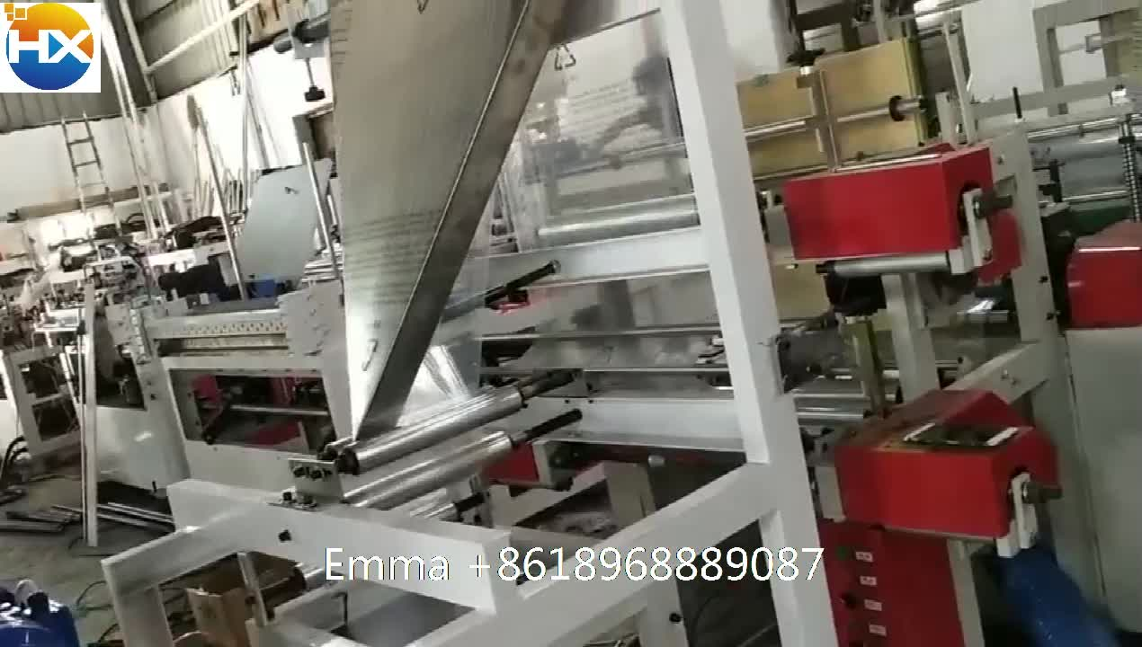 LDY-1020 Hot sell good price factory manufacture rolled garbage bag making machine