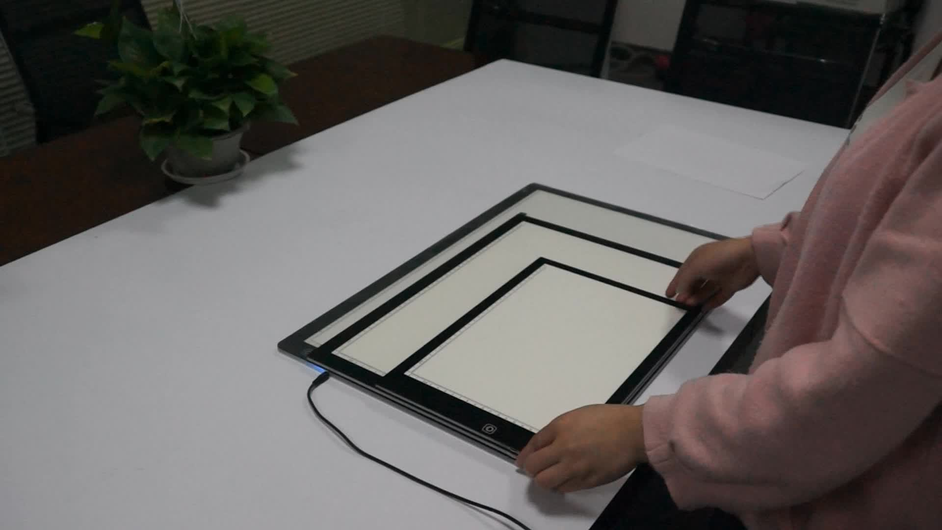 A2 Size graphic drawing tablet led drawing board,illustration tracing board,ultra-thin portable light box