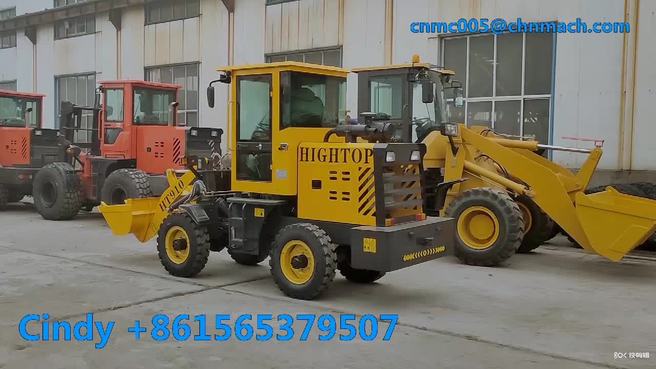 China small 2.2 ton 0.4m3 Wheel Loader Mini Front End Loader