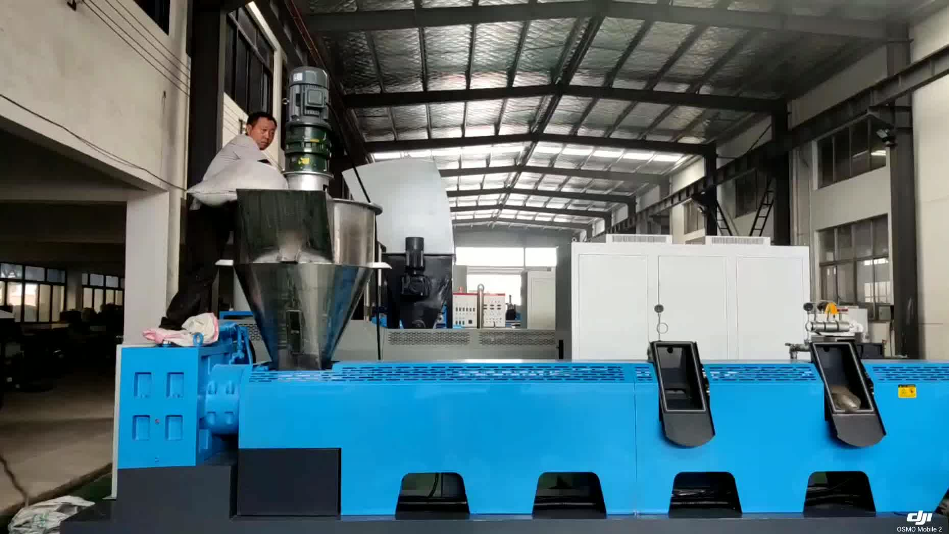 PP PE plastic granulators recycling machine line waste plastic extrusion pelletizer machine plastic granule making machine