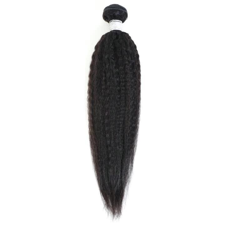 """Высокое качество 10A кудрявые прямые бразильские человеческие волосы пучки волос натуральный цвет бразильские волосы пряди наращивание парик из человеческих волос для женщин 10 """"-30"""""""