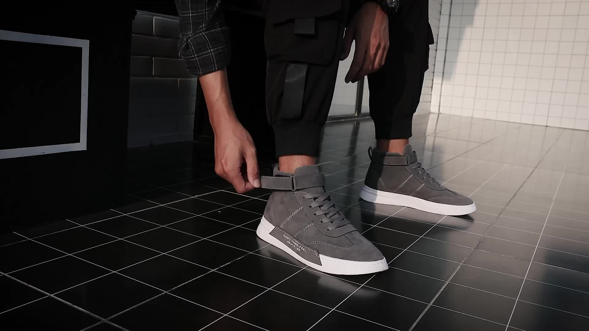 Custom Brand 2019 High Top Canvas Skate Shoe For Men Fashion Sneakers  Running Shoes Casual Shoe L-A022