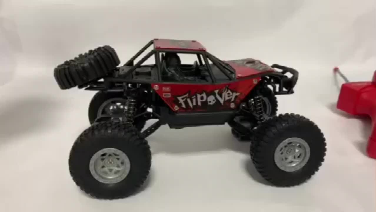 Kids toys remote control 1:20 27 MHZ offroad alloy rc car climbing