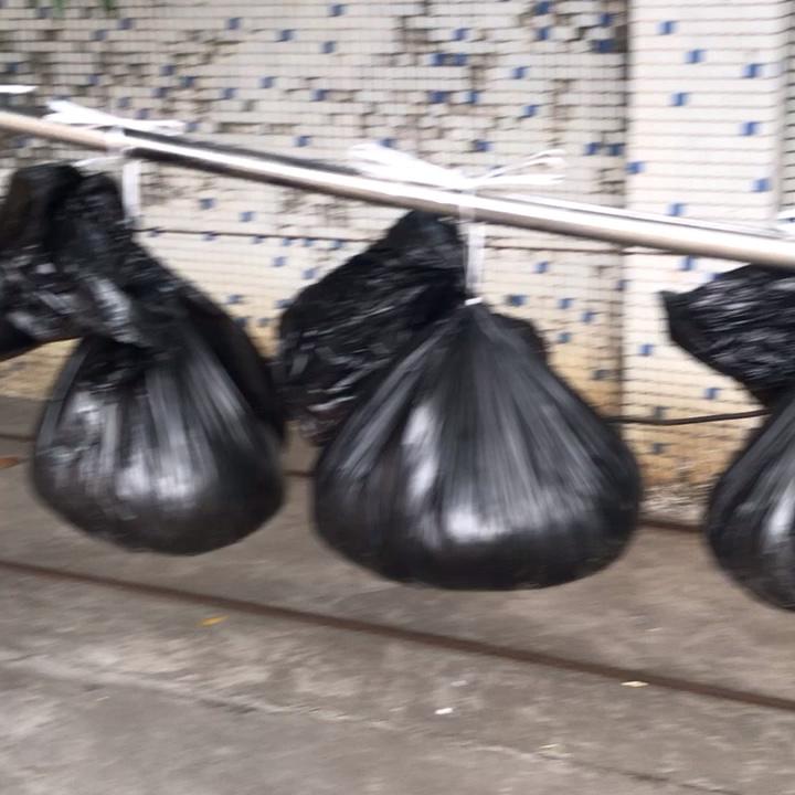 Profesyonel üretici biyobozunur renkli plastik çöp torbası